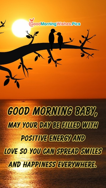 Good Morning Baby Wishes Quotes