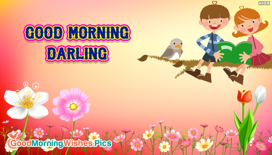 Good Morning Darling Wallpaper - Good Morning Images for Darling