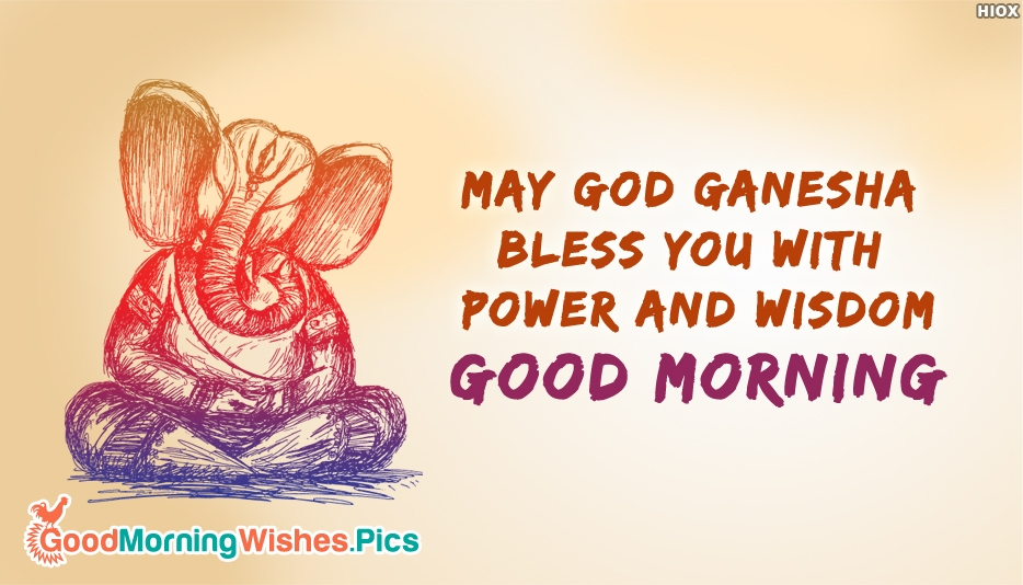 Good Morning Ganesh Ji Wallpaper