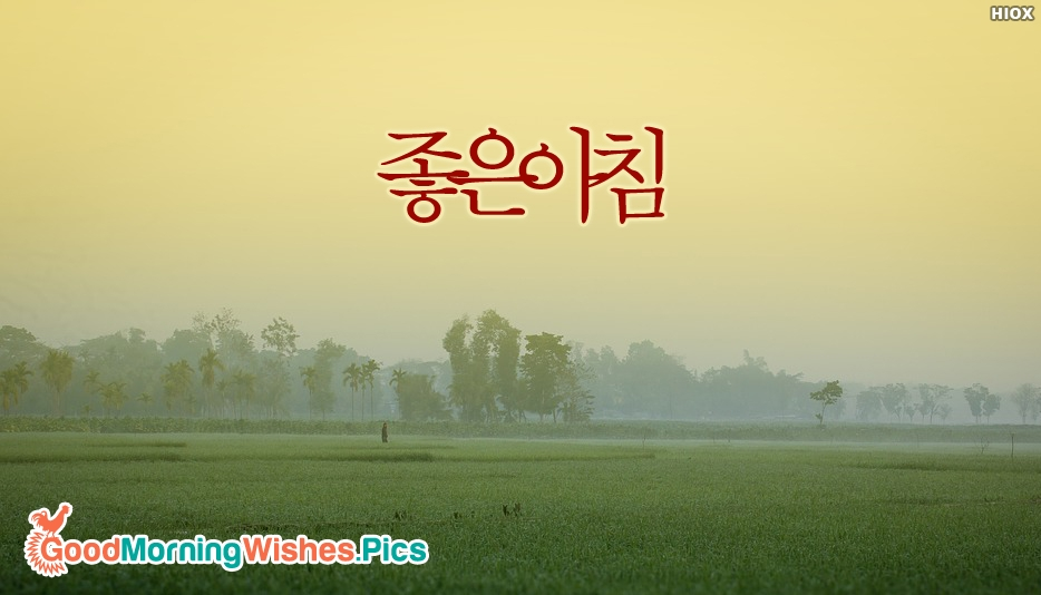Good Morning In Korean Hangul : Good morning in different languages images