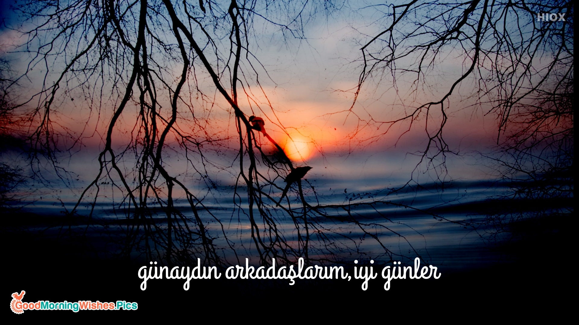Good Morning My Friends, Have A Nice Day in Turkish
