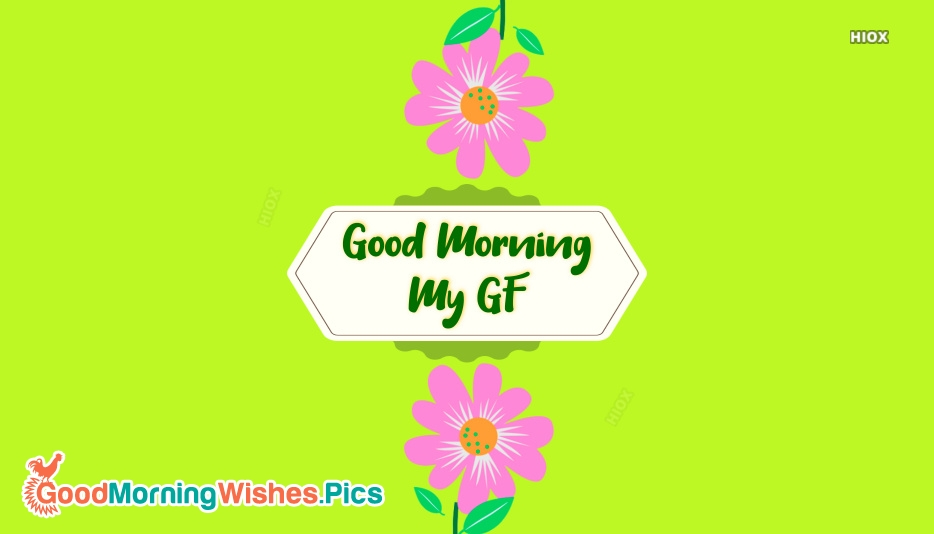 Good Morning Images for Girlfriend