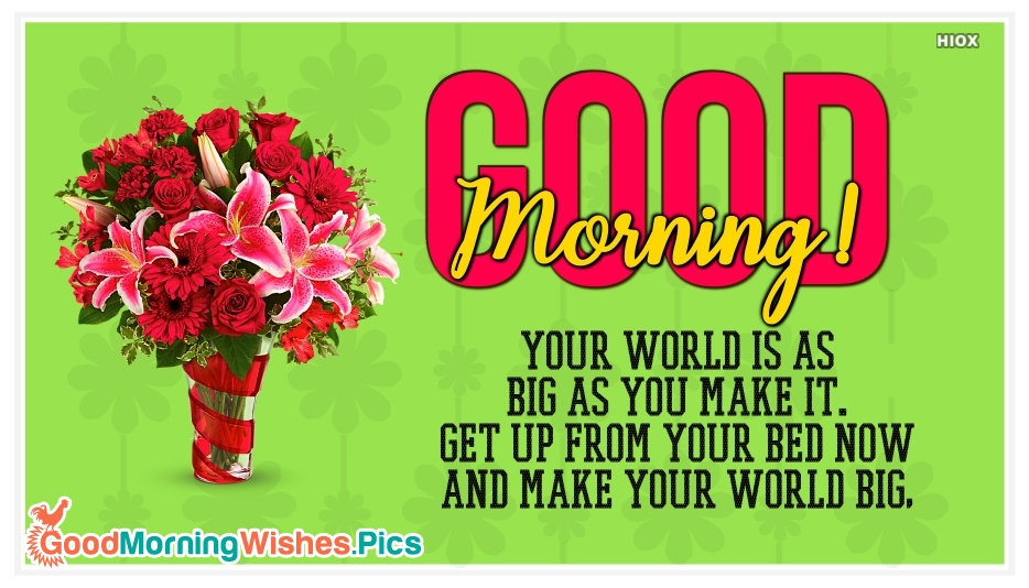 Good Morning Picture With Quotes