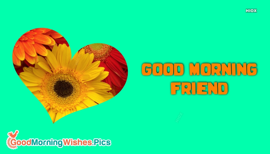 Good Morning Wish To A Friend