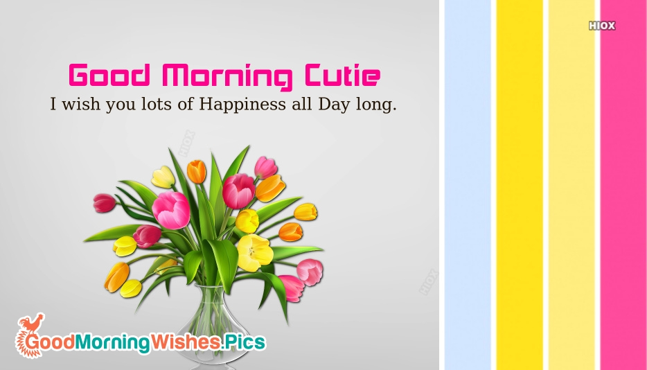 Good Morning Images for Crush