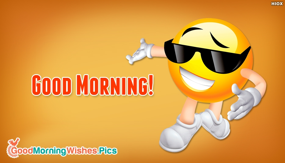 Good Morning Emojis Pictures, Images