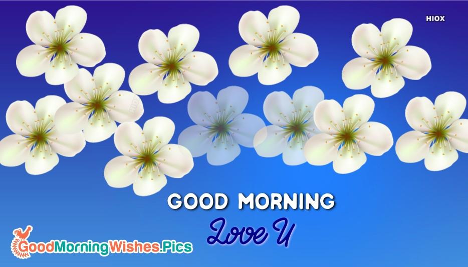 Good Morning With I Love U