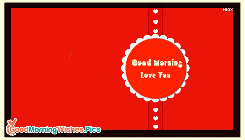 Good Morning Wishes for Lover Boyfriend