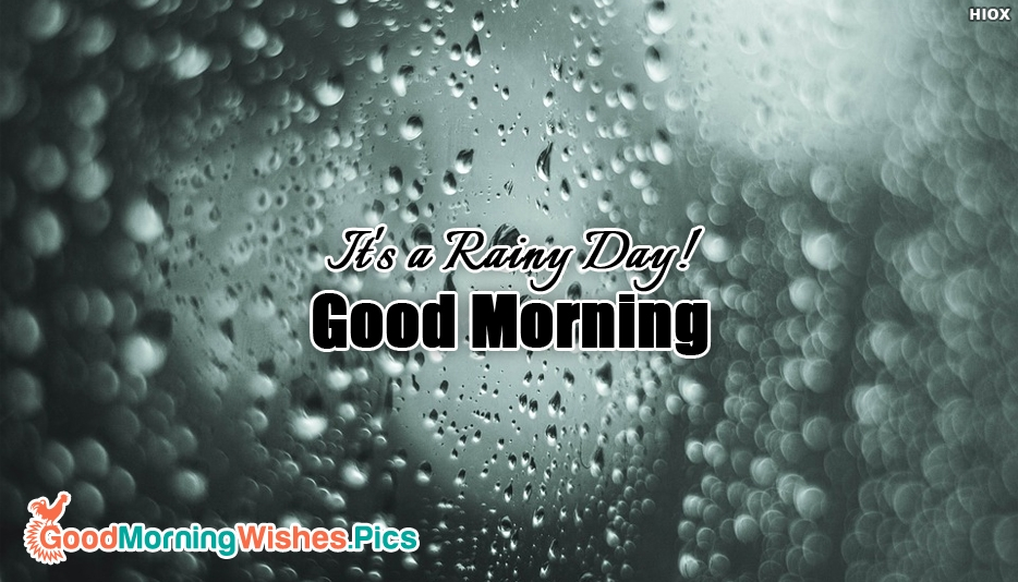 Good Morning Pretty Lady In German : Good morning with rain goodmorningwishes pics