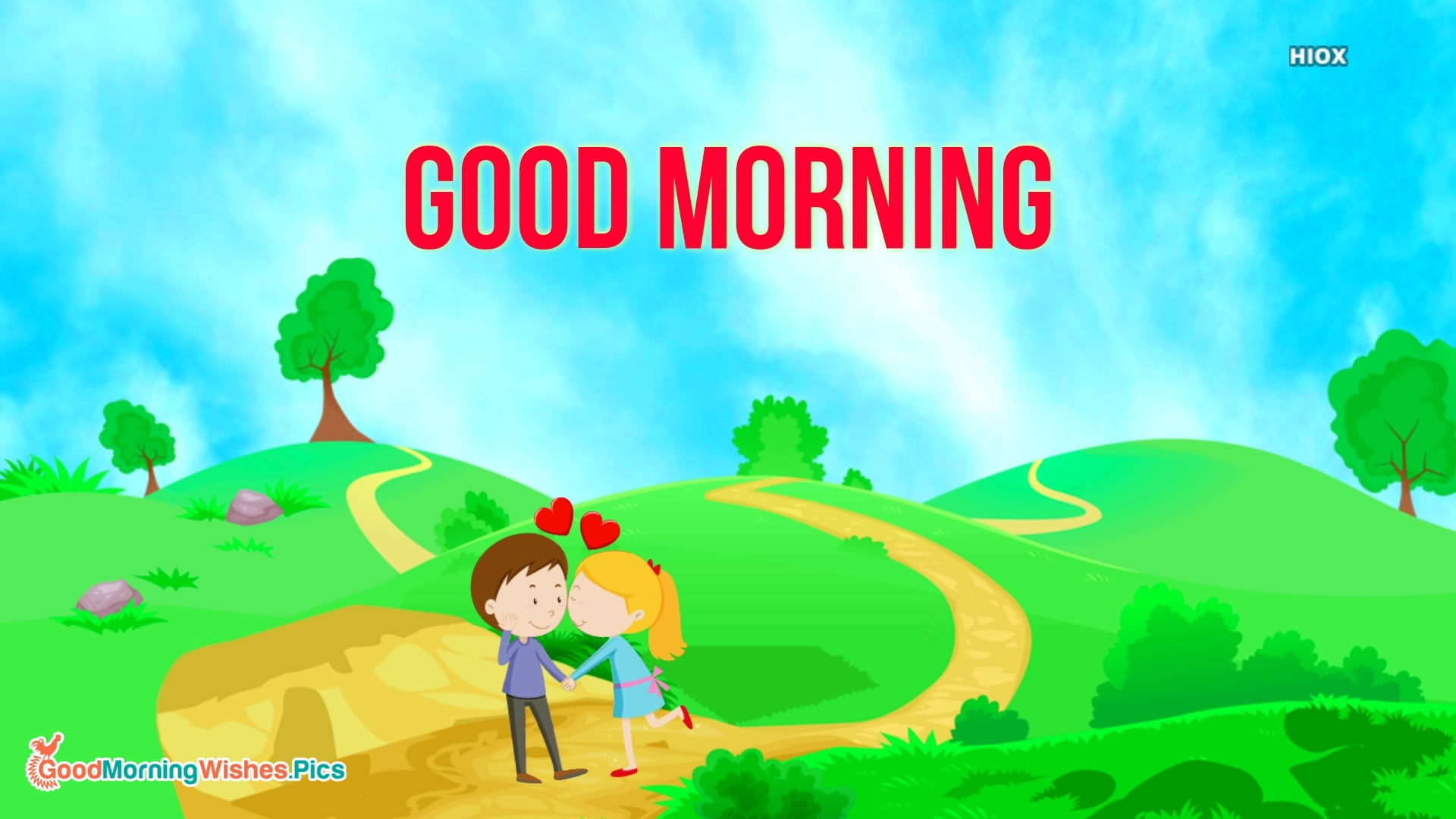 Good Mroning Wishes With Couple