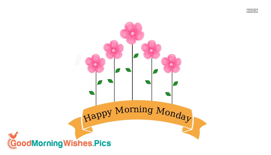 Happy Morning Monday