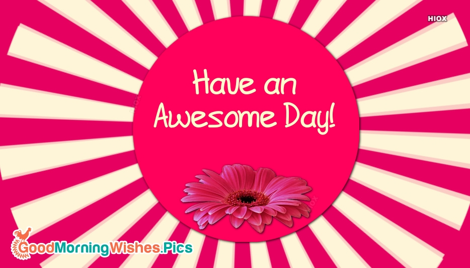 Have A Awesome Day