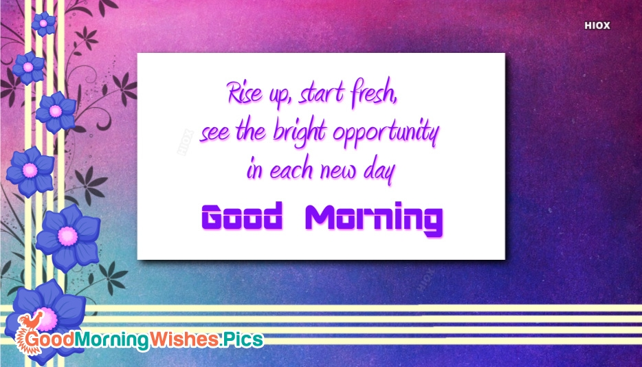 Good Morning Images for Positive