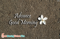 Advance Good Morning Image