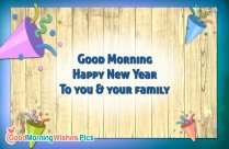 Good Morning Happy New Year Ur Family
