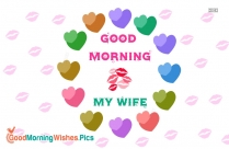 Good Morning Wife Images HD