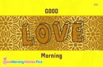 Good Morning With Love Images