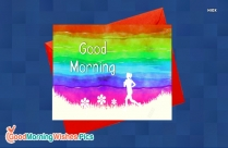 Good Morning Photo With Jogging