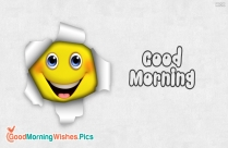 good morning happy face images