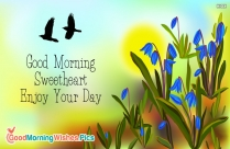 Good Morning Wishes for Wife With Hearts