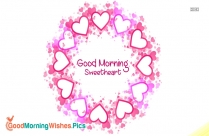 Good Morning Images in Heart
