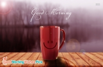 good morning smiley face pic