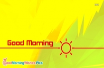 Good Morning Wallpaper Sunrise