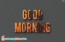 Good Morning Facebook Wallpaper