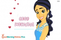 Good Morning With Girl