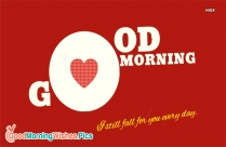 Good Morning Love HD Wallpaper Free Download