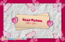 Good Morning With Miss U Images
