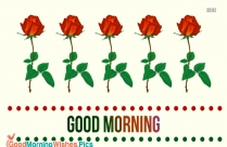 Good Morning With Roses Image