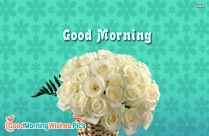 Good Morning Images with Roses