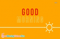 Good Morning Words Image