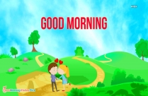 Good Morning With Cute Couples