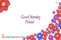 Goodmorning Friend