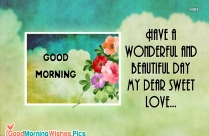 Happy Morning Caption | Let This Day Be A Wonderful Day For You