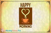 Happy Morning Day