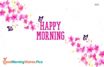 Happy Morning Hd Pic