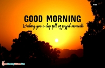 Happy Morning Friends Quotes