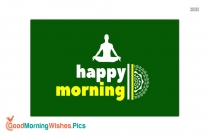 Happy Morning Yoga