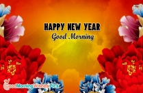 Happy New Year Good Morning Image