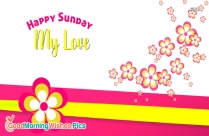 Happy Sunday Images For My Love