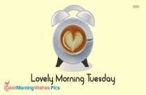 Lovely Morning Tuesday