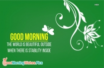 Good Morning Beautiful Wishes