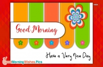 Good Morning Wishes Message