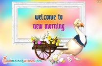 Welcome To New Morning