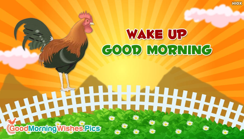 Wake Up Good Morning - Good Morning Everyone Images